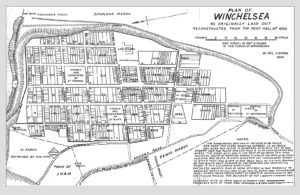 1292 Plan of Winchelsea